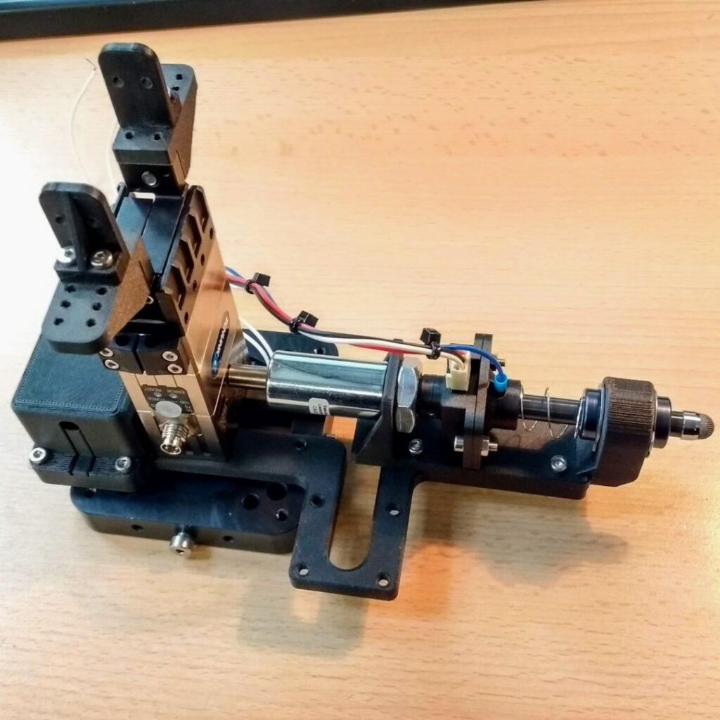 EVA ICE robot testing tool prototype