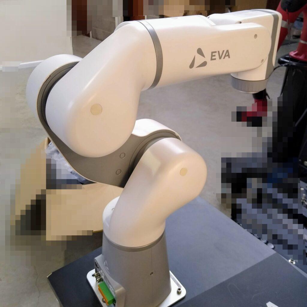 eva robot for testing demo