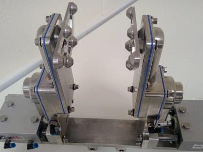 sandwich EOAT paddles stainless 316 silicone FDA gasket EHEDG