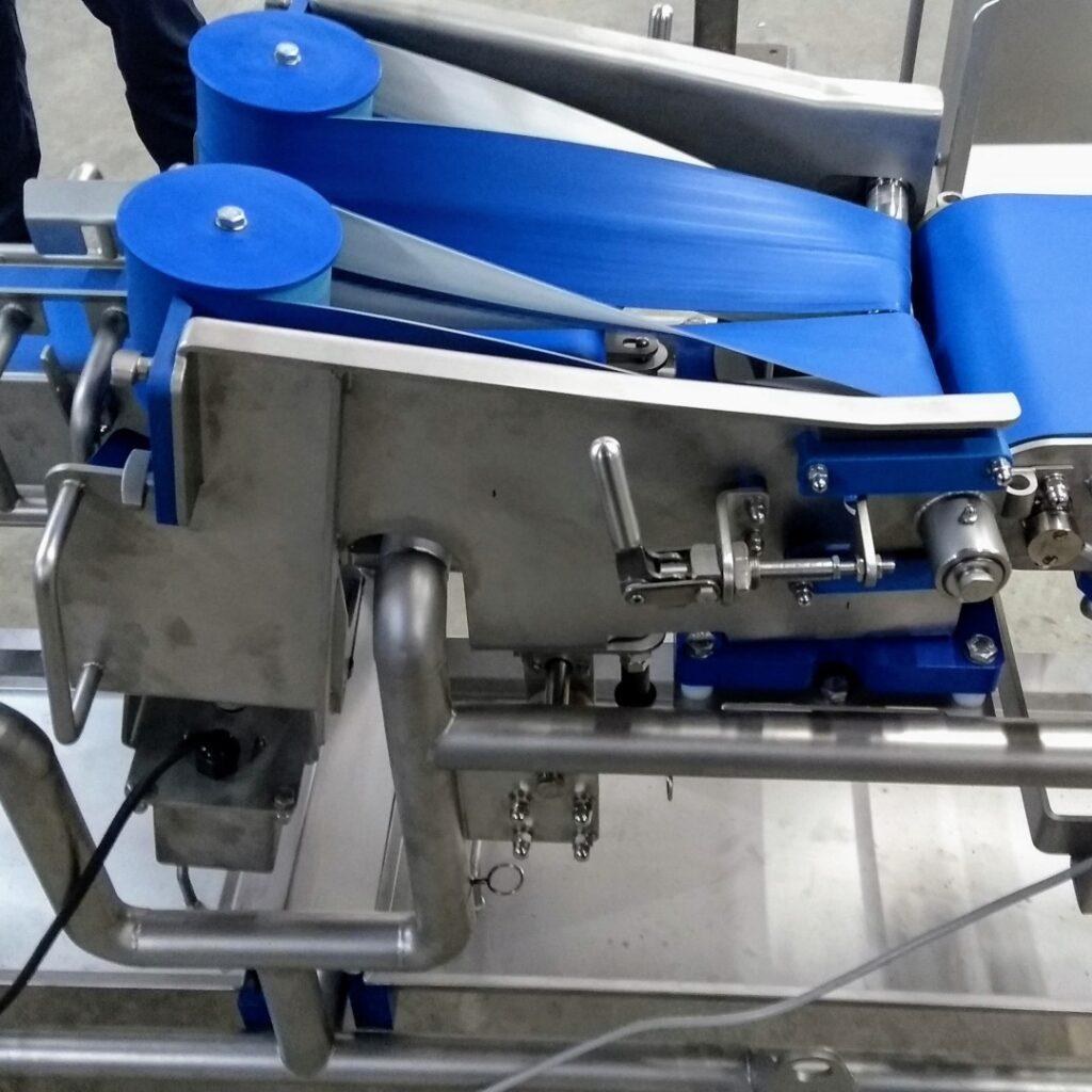 twist belt conveyor hygienic design