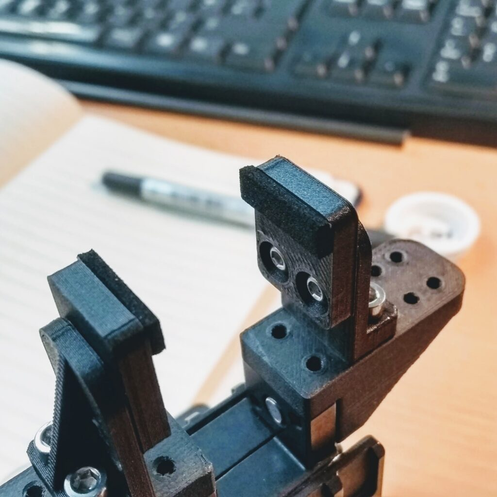 EVA soft grip parallel robot gripper for knob and electronic testing