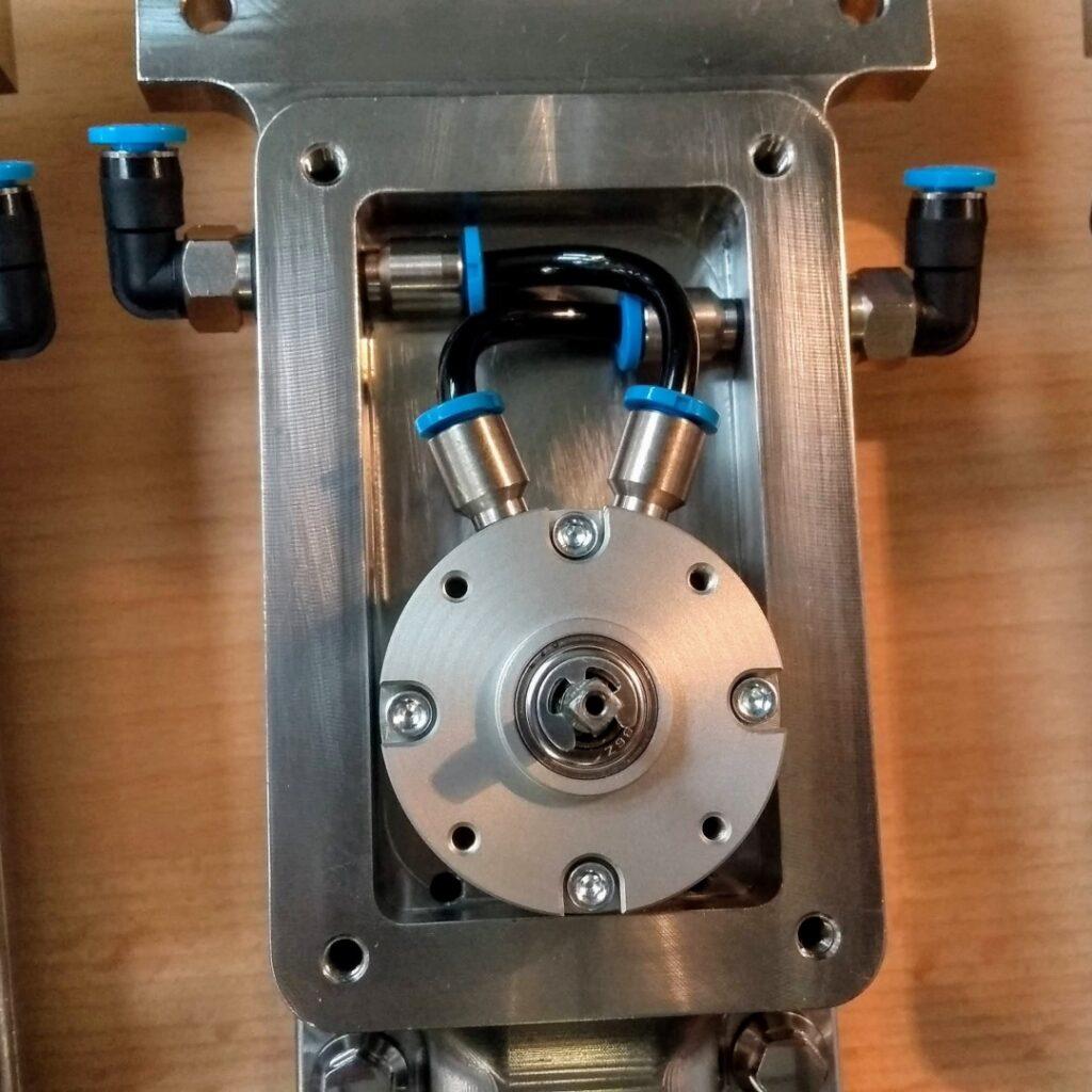 EHEDG hygeinic design robot rotary actuator SS316 washdown